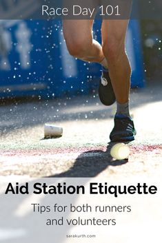 Once a race begins, it's usually a straight-forward affair (literally and figuratively), until, that is, the aid station. Then a little bit of chaos may again reign. On the blog - race day aid station etiquette. Tips for both runners and race volunteers. Half Marathon Tips, Half Marathon Motivation, Running Motivation, Marathon Training Plan Beginner, Running Inspiration, Running Tips, What To Pack, Race Day, Bad Timing