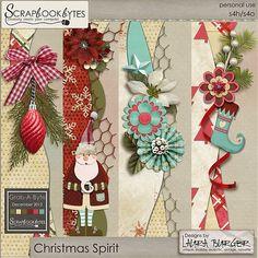 Christmas Spirit Borders