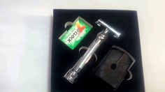 Product Review  #daveocean33 Grand Father Safety Razor Butterfly Door  For a long time my husband and I have been trying to decide on a razor that works well for him. He like to shave daily. Hes also young and still has blemishes here and there often getting caught in disposable razors. We have tried everything from 2 to 5 blade razors disposable to electric Shick/Bic and Gillette. I have couponed and stockpiled razors for months trying to get ahead of his needs anticipate which he wanted…