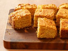 Cornmeal adds a tasty gritty texture, while buttermilk retains a delectable moisture. No Thanksgiving bread basket is complete without cornbread.