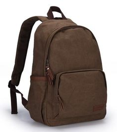 mochila masculina                                                                                                                                                                                 Mais #malebackpack  #canada Diy Backpack, Leather Backpack, Travel Backpack, Men's Backpacks, School Backpacks, College Bags, Back Bag, Designer Backpacks, My Bags