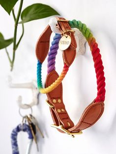 Found My Animal Tie Dye Rope Leash at Free People Clothing Boutique