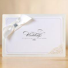 White Layered Elegant Wedding Invitations – YM 705 | ItsInvitation