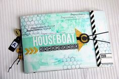 house boat mini album by laury55