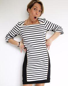 L'inédit. Top ou robe. Version bicolore sympa. Je verrais bien aussi une version velours pour un côté plus habillé