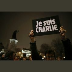 """""""If liberty means anything at all, it means the right to tell people what they do not want to hear"""" ~Georges Orwell  Je suis Charlie  I am Charlie"""