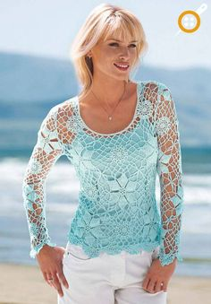 Yazlık örgü bluz modelleri