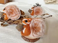 Squirrel Felting Kit Needle Felting Kit Squirrel Felting | Etsy Beginner Felting, Cute Squirrel, Needle Felting Kits, Starter Kit, Cool Watches, Wool Felt, Objects, Make It Yourself, Knitting