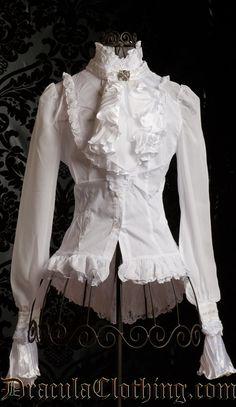 Уровень декора блузки