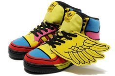 separation shoes 2b881 c4b95 Adidas JS by Jeremy Scott Wings High Top Sneaker Adidas Jeremy Scott Wings,  Baskets Nike