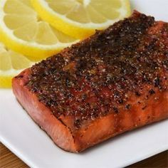 Broiled Sockeye Salmon with Brown Sugar and Citrus Glaze- Food Network recipe. best way to eat salmon:)