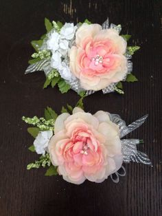 Pink Corsages for Prom | DIY PINK ROSE PROM CORSAGE & BOUTONNIERE | Prom | Pinterest