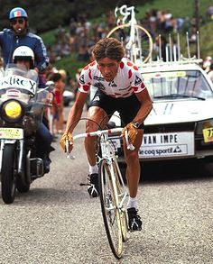 Lucien van Impe won on the Alpe in1976