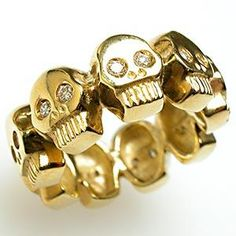 1000 images about mens estate jewelry on pinterest men for Mercedes benz 18k gold ring