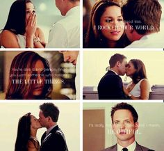 Mike and Rachel. Tumblr. Suits. OTP.