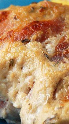 Crock Pot Garlic Bacon Chicken