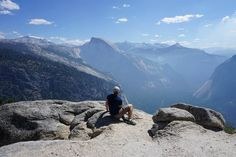 Our first time in the US! Top of Yosemite Point Yosemite National Park California USA #hiking #camping #outdoors #nature #travel #backpacking #adventure #marmot #outdoor #mountains #photography #outdoortravelusa #californiatravel