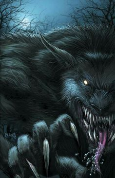 The Night Howls into the moon light and it's ready to kill