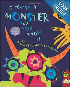If You're A Monster And You Know It. If you're a monster and you know it clap your hands . Children will stomp their paws, twitch their tails, snort and growl, and wiggle and wriggle along with this bright and bold picture book Monster Classroom, Art Classroom, Classroom Themes, Monster School, Future Classroom, Classroom Activities, Art Books For Kids, Childrens Books, Art For Kids