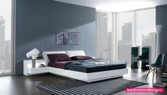 Spacious Bedroom Paint Inspirations - http://www.bedroomdesignz.com/bedroom-decoration/spacious-bedroom-paint-inspirations.html