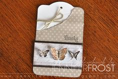 by Jennifer Frost - like LO for card vs tag.
