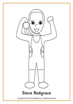 heres a fun colouring page of olga korbut the young russian gymnast who wowed the world with her performances in the 1972 and 1976 olympic games