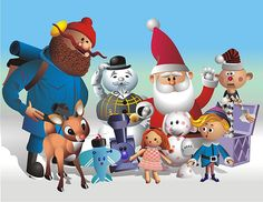 Rudolph Christmas Movie Characters.120 Best Rudolph The Red Nosed Reindeer Images In 2019 Red