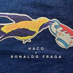 Mais um patch desenvolvido por nós para o desfile inverno 2016 de @fragaronaldo no @spfw. Estamos ainda em êxtase e cheios de orgulho da parceria Haco + Ronaldo Fraga. #universohaco #produtoshaco #hacoeronaldofraga #spfw