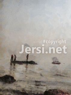 Цифровая живопись: Ныряльщики