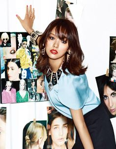 LEE HyoRi 이효리 #korean Summer Hairstyles, Bob Hairstyles, Korean Beauty, Asian Beauty, Korean Celebrities, Celebs, Midi Hair, Lee Hyori, Shot Hair Styles