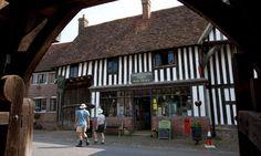 England's oldest shop in Chiddingstone, Kent, UK 1590,still going strong