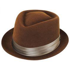 d16ea23613c Myers Wool Felt Diamond Crown Fedora Hat alternate view 29