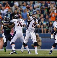Franklin's got your back Manning!
