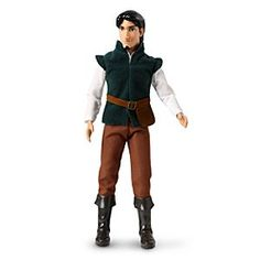 Disney Flynn Rider Classic Doll - 12'' | Disney StoreFlynn Rider Classic Doll - 12'' - The dashing thief Flynn Rider is ready to smolder his way into your heart! Looking handsome in his signature outfit from <i>Tangled</i>, this Flynn Rider Classic Doll is ready to embark on play time adventures with both you and Rapunzel.