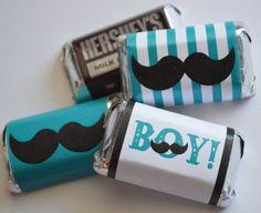 INSTANT DOWNLOAD Mustache Boy Printable Miniature