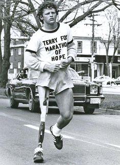 Terry Fox, a Canadian hero