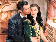 Clark Gable & Vivien Leigh Gone with the Wind by hollywoodpics