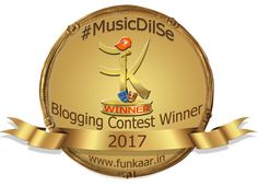 Music dilse Award I recieved for a musical post on my blog