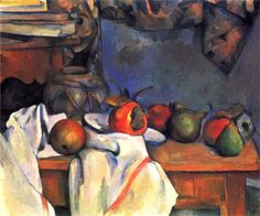 Still Life with Pomegranate and Pears, 1893, Paul Cezanne