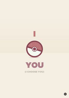 All sizes | I choose you (Valentine postcards for nerd guys) | Flickr - Photo Sharing!