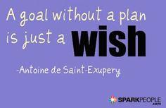 Stop wishing, start planning