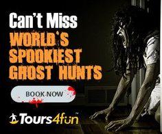 Tours4Fun World's Spookiest Ghost Hunts #riatravelbug