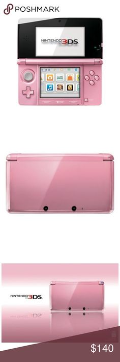 Nintendo 3DS Pearl Pink This is my beloved Nintendo 3DS pearl pink😍 super cute! Only comes alone with the charger! Like, share, bundle, save😊 All offers considered❤️😘 Nintendo Other