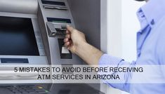 Avoid making these common mistakes when you are going to hire an ATM company in Arizona to get an ATM.  #atm #atmmachine #atmcompany #atmplacement #atmservices #atmdelivery #atminstallation #cashloadingservice #atmmonitoring #atmmaintenance #Arizona Atm Services, Mistakes, Arizona, Monitor