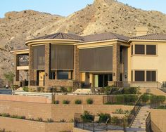 Learn how motorized exterior shades can block out of the sun's rays. When looking to protect your home with exterior shades, call Polar Shades at for a free in-home consultation. Retractable Shade, Retractable Awning, Solar Shades, Sun Shades, Exterior Shades, Fabric Awning, Motorized Shades, Solar Screens, Patio Shade