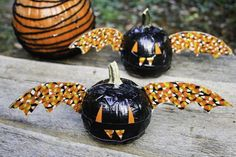 Batty Duct Tape Pumpkins   This pumpkin craft idea will prep you for Halloween in style!