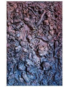 the electrician saw a sea of carnage mixed media on canvas  90x60cm. . . . #art #sztuka #kunst #arte #painting #mixedmediaart #contemporaryartcurator #contemporaryart #texture #modern #ratedmodernart #drailedmag  #artstarsmag #artsanity #artcollector #unknown_artworks #WojciechSosidko #thednalife