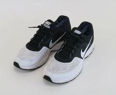 a35f990c835f Nike Pegasus 30 White Black Running Shoes Sneakers Training Size 11.5  Nike   RunningShoes