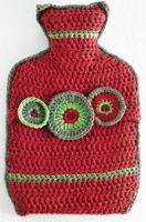 Crochet a cosy hot water bottle cover: UK terms