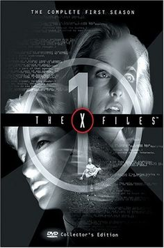 """The X Files (TV Series) ~ """"Two FBI agents, Fox Mulder the believer and Dana Scully the skeptic, investigate the strange and unexplained while hidden forces work to impede their efforts."""""""